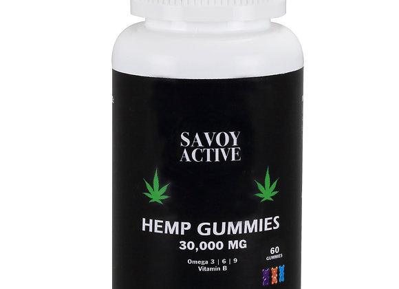 Hemp Seed Oil Gummies - 30,000MG - 60 Gummies