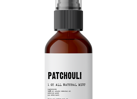 Patchouli Meditation Mist