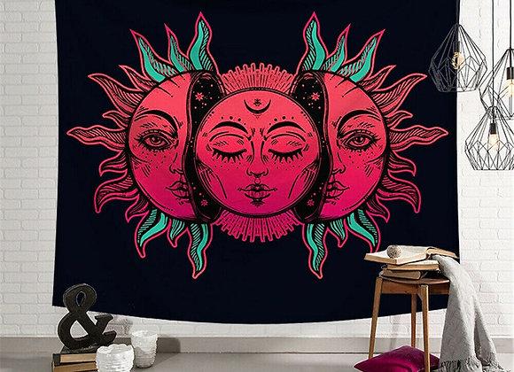 Indian Mandala Tapestry Wall Hanging Hippie Bedspread Gypsy Art Decor Throw