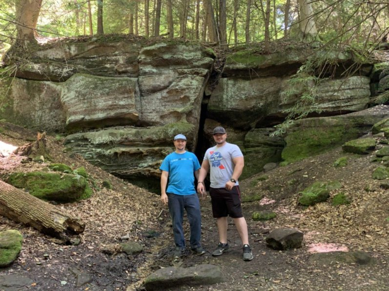 Ledges Trail Cuyahoga National Park