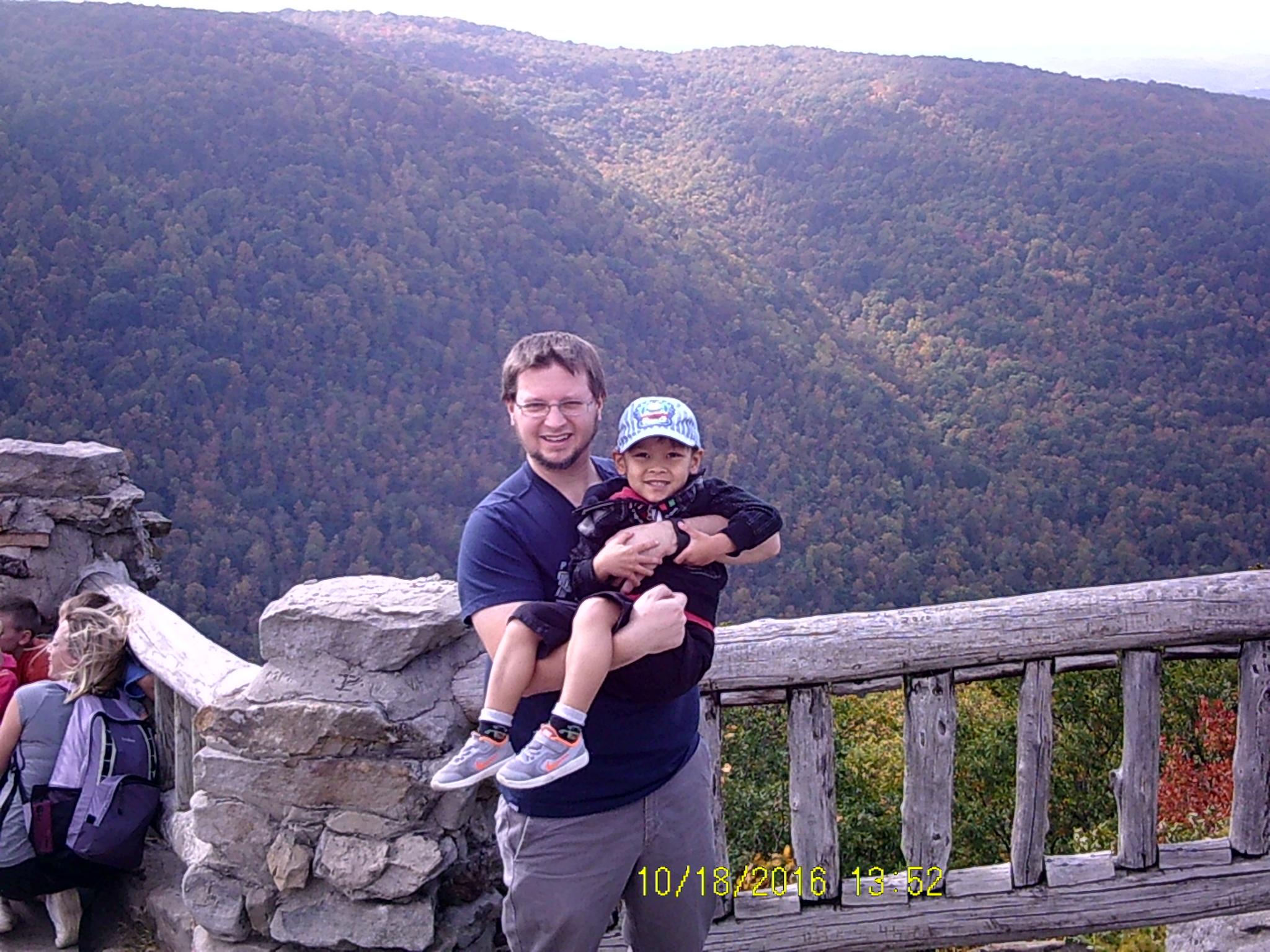 Cooper's Rock in West Virginia