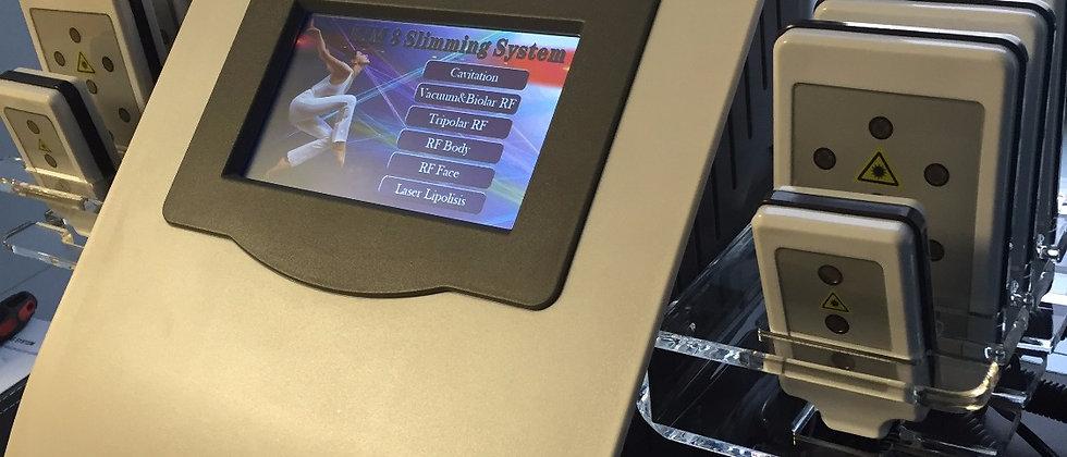 Кавитация РФ-лифтинг вакуумный массаж KIM 8 Slimming System 7в1