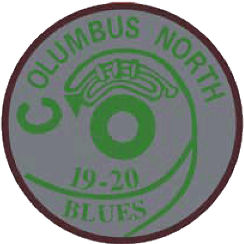Columbus North Blues Patch