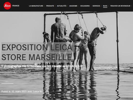 EXPOSITION LEICA STORE MARSEILLE