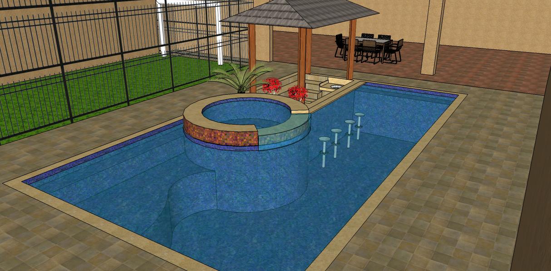 Projeto de piscina para reforma