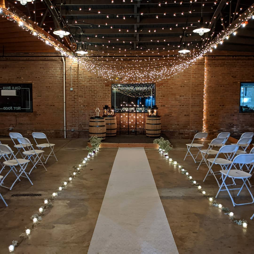 distillery wedding jan 11 2019 - ceremon