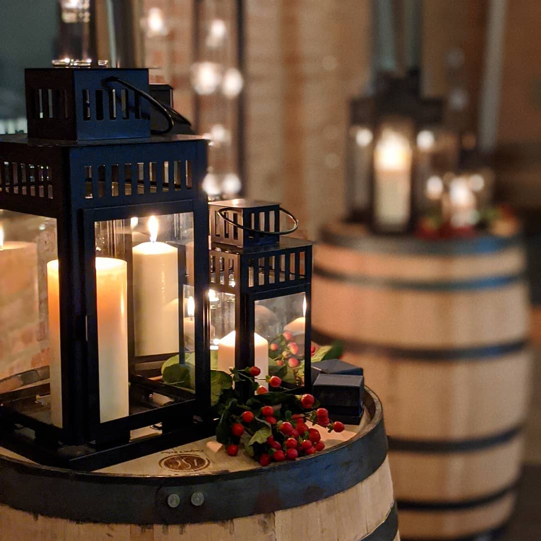 distillery wedding jan 11 2019 - barrels