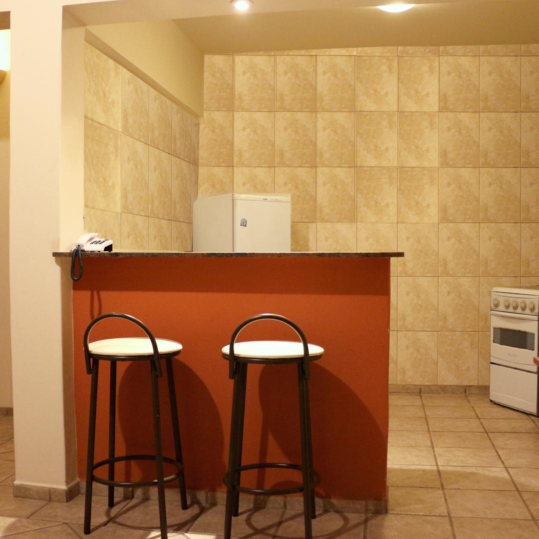 cozinha americana até porta flat padrão