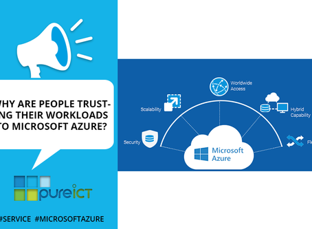 Why are people trusting their workloads to Microsoft Azure?