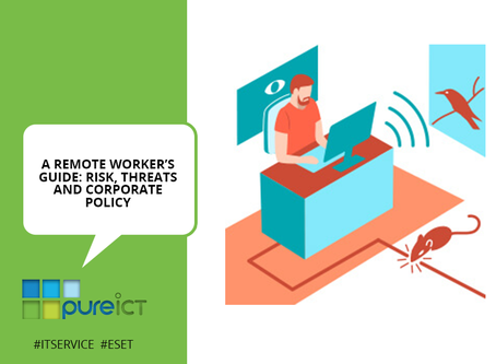 A remote worker's guide: Risk, Threats and Corporate policy