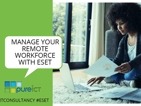 Using ESET's products to manage a remote workforce