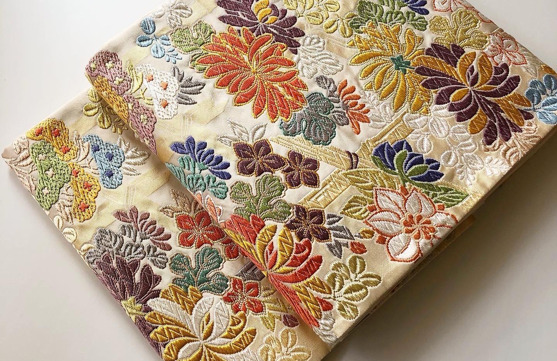 袋帯 唐織り