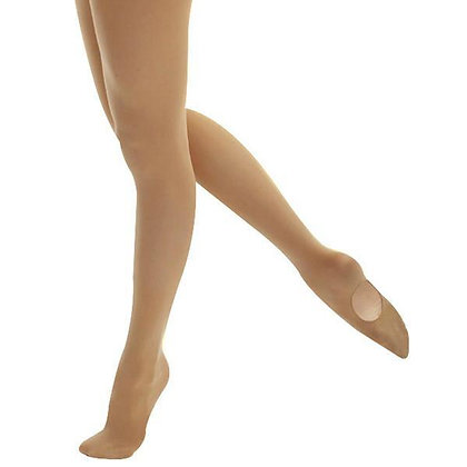 Adult Jazz/Tap Tights, Convertable  - Mondor