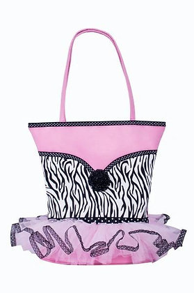 Zebra with Tutu Tote