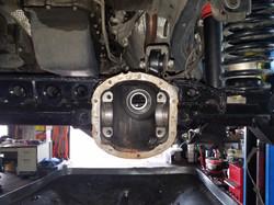 Rear gear service