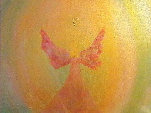 Regenbogen Engel