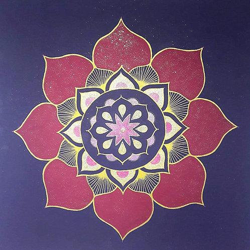 Mandala der Zentrierung
