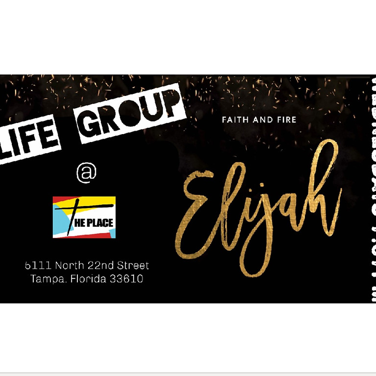 Elijah - Every Wednesday @ The Place for 8 Weeks