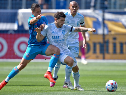 Quakes Rattled by Kansas City and Galaxy