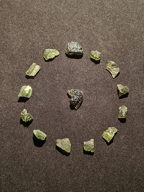 Moldaviti x 14 C, B, A 16g