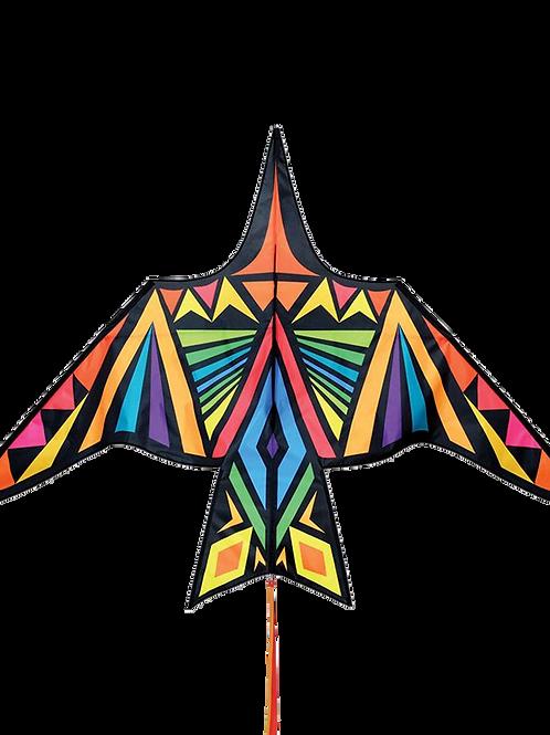 Professional Kite Thunderbird Rainbow Geometric -  a single-line