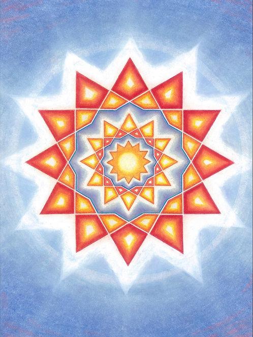 Mandala Warmth of LIGHT
