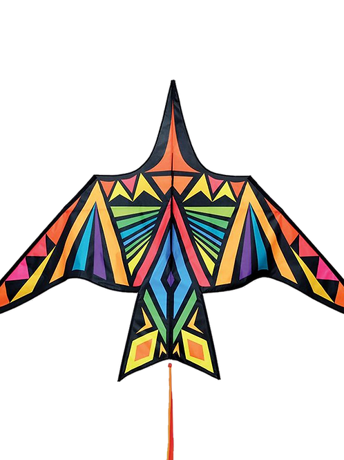 Profesionalni Zmaj Thunderbird Rainbow Geometric - enolinijski