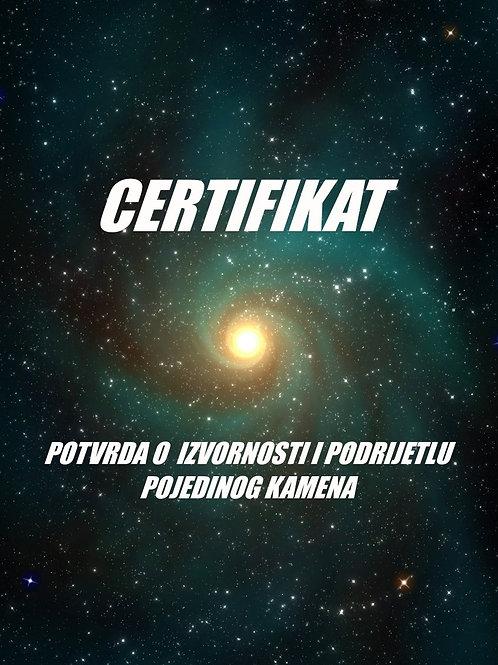 Izrada certifikata