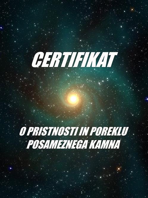 Izdelava certifikata