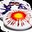 Thumbnail: Frisbee Hero Super Swirl (unique dye)