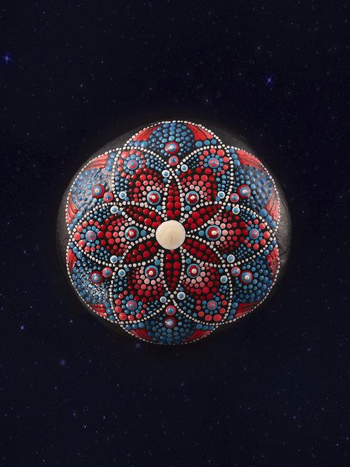 THE FLOWER OF THE UNIVERSE Mandala