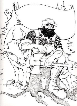 Paul & Babe Illustration