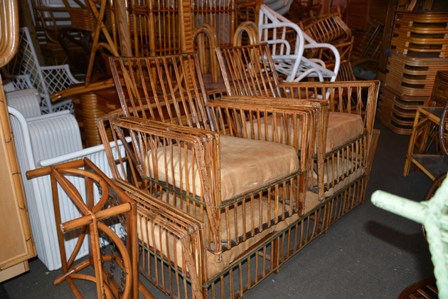 sampling of large stick wicker collection