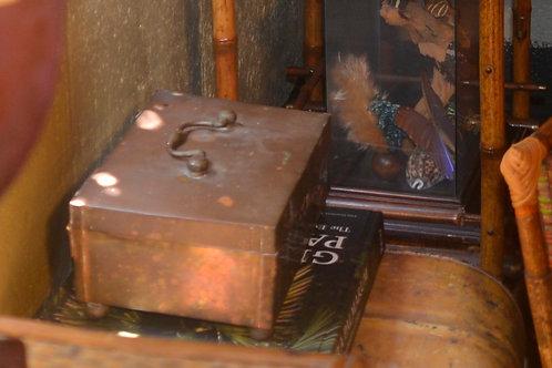 1950s Brass Box Original Condition
