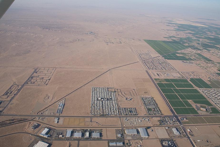 Aerial Photo Yuma AZ