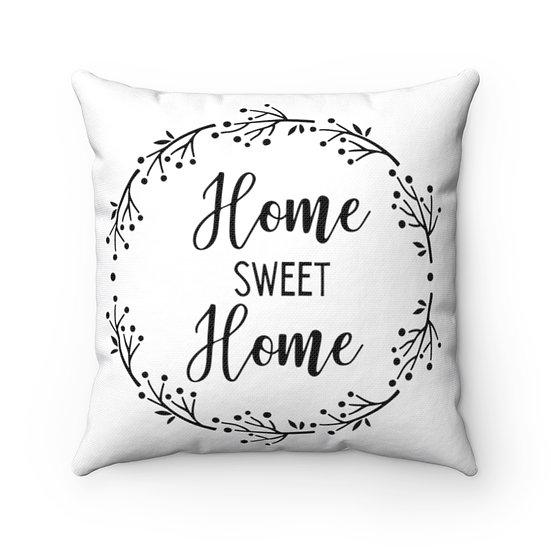 Farmhouse Pillows, Home Sweet Home Farmhouse Pillow, Farmhouse Throw Pillows