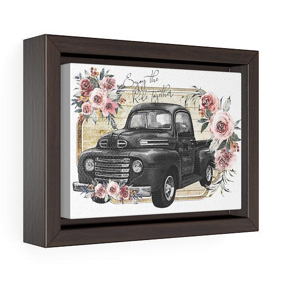 Personalized Farmhouse Wedding Canvas, Framed Premium Gallery Wrap Canvas