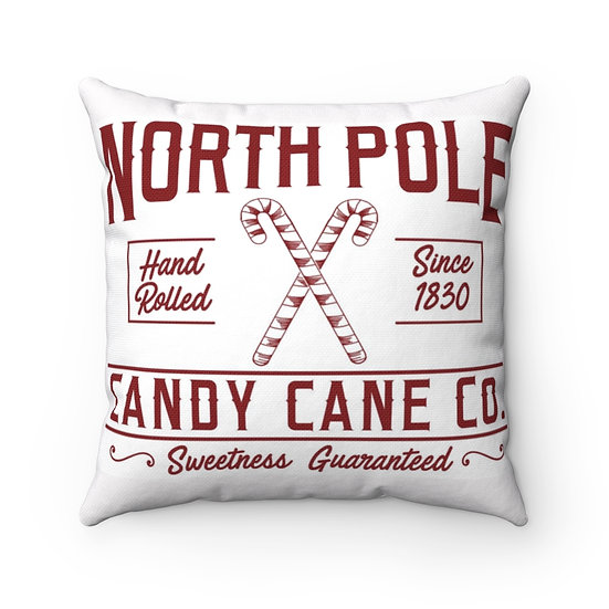 Christmas Pillow, Candy Cane Pillow, Farmhouse Christmas Pillow