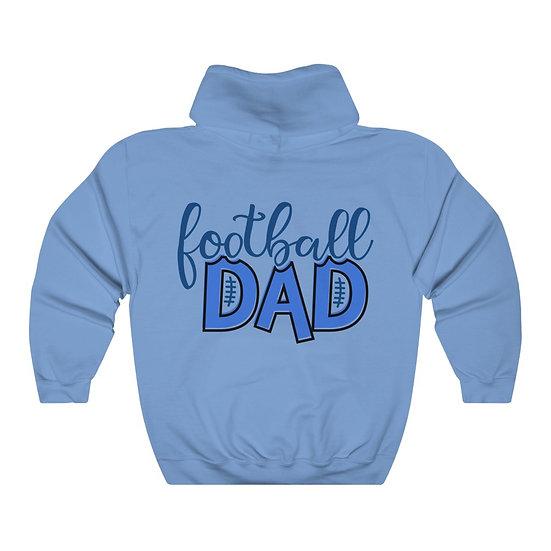 Football Dad Unisex Heavy Blend™ Hooded Sweatshirt
