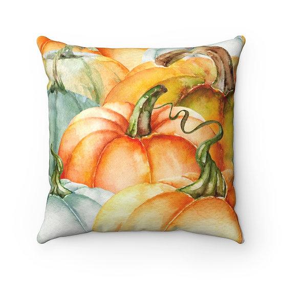 Pumpkin Pillow, Autumn Throw Pillow, Fall Pillow Decor