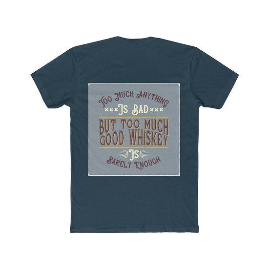 Good Whiskey Cotton Crew Tee