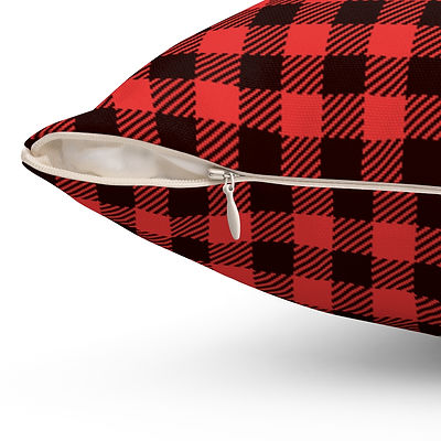 red-plaid-pillow-red-and-black-plaid-pil