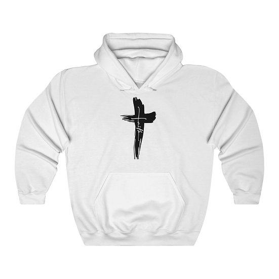 Faith Unisex Heavy Blend Hooded Sweatshirt