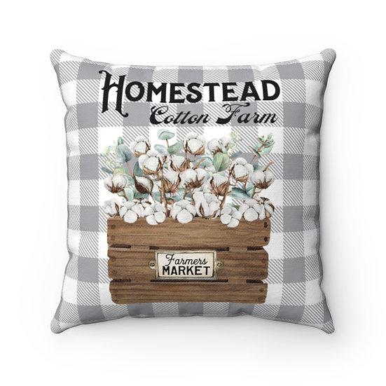 Pillow, Cotton Crate, Cotton Farms Throw Pillow, Farmhouse Pillow, Pillow Decor