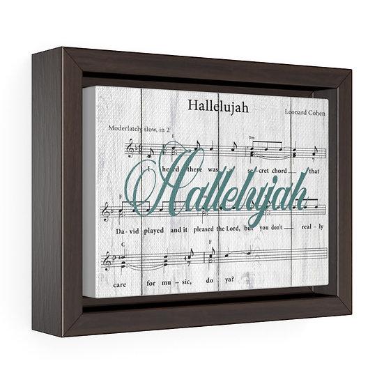 Song Lyric Print, Hallelujah Song Lyric Christian Gift, Baptism Gift
