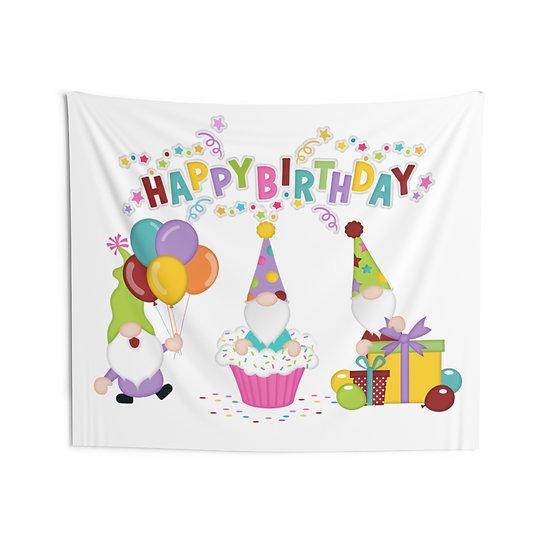 Happy Birthday Indoor Wall Tapestries, Birthday Banner, Special Birthday Decor