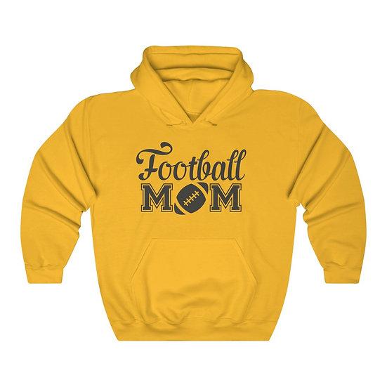 Football Mom Unisex Heavy Blend Hooded Sweatshirt