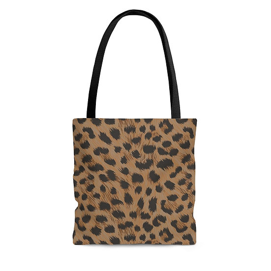 Tote Bags, Boho Dark Leopard, Bags and Purses for Women, Totes for Women