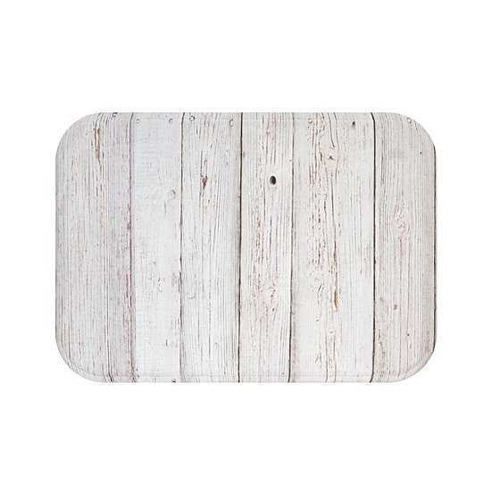 Bath Mat, Barnwood Print Bath Mat, Non Slip Bathroom Rug, Bathroom Accessories