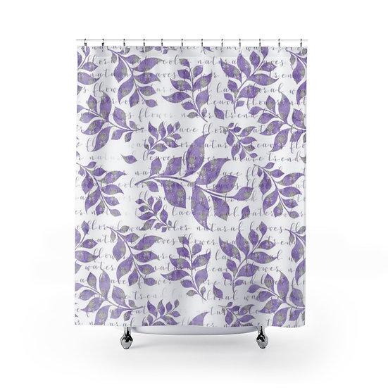 Lavendar Shower Curtain